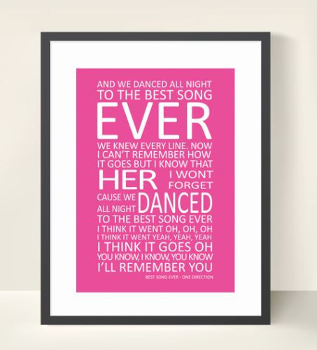 D Best Song Ever Lyrics The Chic Party Boutiqu...
