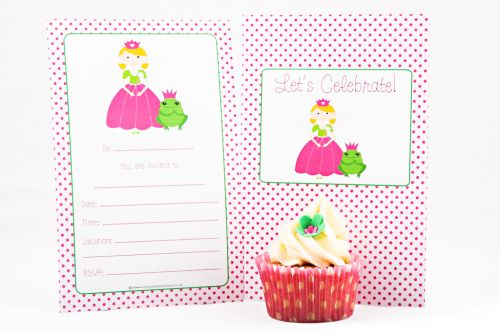 Princess Themed Fill-In Party Invitation-party, invitation, girl, fill-in, fillin, princess, royal, royalty, pretty, pink, quality, premium