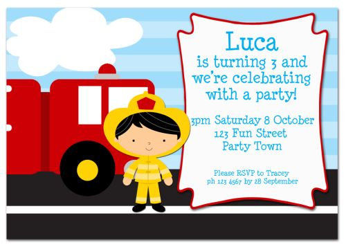 The Chic Party Boutique Party Invitations Boys