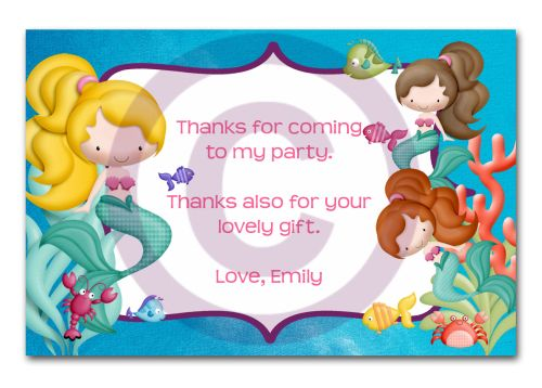 Thank You Card-partybox, party, box, giftbox, gift, lootbag, loot, customise, personalise, custom, personal, thankyou, thank, you, card, tag