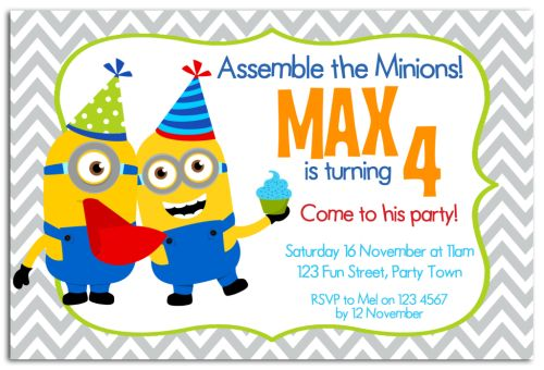 The Chic Party Boutique Party Invitations