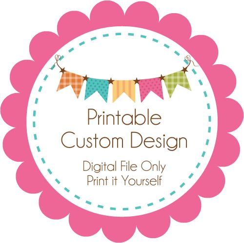 Printable Custom Design-announcement, birth, digital, print yourself, diy, invitation, custom, unique