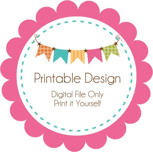 Printable Existing Design-party, invitation, digital, print yourself, diy