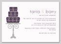 Cake Themed Wedding Invitation-wedding, wedding invitation, invite, contemporary, modern, new zealand, personal, stylish, quality, inviting designs, invites by design, design