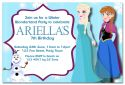 Frozen Inspired Party Invitation-party, invitation, pink, girl, celebrate, celebration, invite, frozen, anna, elsa, olaf