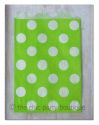 Green with White Dot Party Bag-partybox, party, box, giftbox, gift, lootbag, loot, favor, favour, bag, partybag