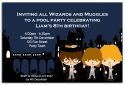 Harry Potter Inspired Party Invitation-party, invitation, girl, celebrate, celebration, invite, harry, potter, harry potter, boy, unisex