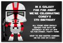 Star Wars Inspired Party Invitation-party, invitation, boy, celebrate, celebration, invite, star wars, jedi, starwars